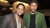 Ever-dapper actors Blair Underwood and Wood Harris (who plays Stanley's pal Mitch) are ready to roll up their sleeves for Streetcar.