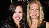 Stars Molly Ranson and Marin Mazzie go from bloody to glam on opening night.