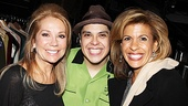 Kathie Lee and Hoda at Godspell   Kathie Lee Gifford  George Salazar  Hoda Kotb