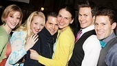 Cast members Vanessa Sonon, Michelle Loucadoux, Robert Creighton, Kevin Munhall and Brandon Bieber will clearly miss their leading lady, Sutton Foster.