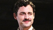 Max von Essen beams after his first performance as Magaldi in Evita.