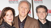 Margaret Colin,  John Lithgow and Boyd Gaines make one powerful trio in The Columnist. 