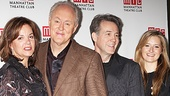 Margaret Colin, John Lithgow, Boyd Gaines and Grace Gummer are happy to greet the press. 