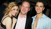 Ghost First Broadway Preview  Caissie Levy  producer Colin Ingram- Richard Fleeshman 