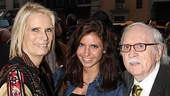 Jesus Christ Superstar opening night –  Tom Meehan – wife- granddaughter