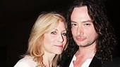 Other Desert Cities star Judith Light poses with fellow Tony nominee and forthcoming Jekyll & Hyde headliner Constantine Maroulis.
