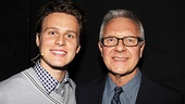 It 's a happy reunion for Jonathan Groff and director Walter Bobbie, who worked together earlier this season on MCC's The Submission.