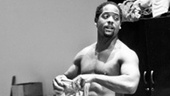 Streetcar Named Desire rehearsal  Blair Underwood