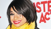 At her opening night party, Raven-Symoné is every inch as fabulous as Deloris Van Cartier.
