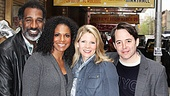 Nice Work If You Can Get It  Norm and Audra Visit  Norm Lewis  Audra McDonald  Kelli OHara  Matthew Broderick