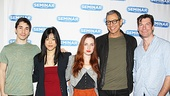 Justin Long, Hettienne Park, Zoe Lister-Jones, Jeff Goldblum and Jerry OConnell will take the stage together in Seminar for the first time on April 3. Head to the Golden Theatre to see them soon!