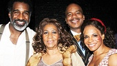 Porgy and Bess stars Norm Lewis, David Alan Grier and Audra McDonald could not be happier to meet the Queen of Soul, Aretha Franklin.