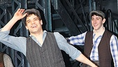 Newsies  Opening Night  Jeremy Jordan -  Ben Fankhauser