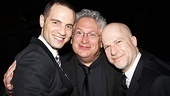 Newsies  Opening Night  Jordan Roth  Harvey Fierstein - Richie Jackson