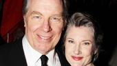 Michael McKean and his actress wife Annette O'Toole enjoy the opening night party.