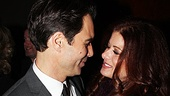 Will and Grace alums Eric McCormack and Debra Messing share a tender moment.