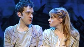 Adam-Chanler Berat as Boy and Celia Keenan-Bolger as Molly Aster in Peter and the Starcatcher.