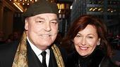 Other Desert Cities star Stacy Keach and wife Malgosia Tomassi are out to see the much-buzzed-about show.