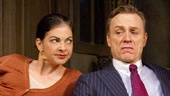 Spencer Kayden as Suzette, Ben Daniels as Robert and Patricia Kalember as Jacqueline in Don't Dress for Dinner.