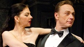 Spencer Kayden as Suzette and Ben Daniels as Robert in Don&#39;t Dress for Dinner.