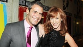 Evita  Opening  Andy Cohen  Kathy Griffin