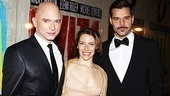 Headliners Michael Cerveris, Elena Roger and Ricky Martin are dressed to the nines for their big party.