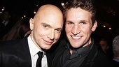 Road Show reunion! Michael Cerveris catches up with former co-star Claybourne Elder.