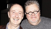 One Man, Two Guvnors Toasts First Broadway Preview  Fred Ridgeway  Martyn Ellis