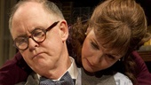 John Lithgow as Joseph Alsop and Margaret Colin as Susan Mary Alsop in The Columnist.