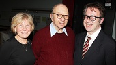 Producer Kathleen K. Johnson and playwright Nicky Silver are only too happy to welcome legendary playwright Neil Simon to The Lyons