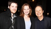 Billy Crystal shares a smile with Lyons co-stars Michael Esper and Kate Jennings Grant. Check out this hilarious comedy, now playing at the Cort Theatre.