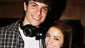 Carrie Recording- Derek Klena- Christy Altomare