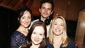 Molly Ranson (center) is surrounded by the adults in Carrie's life, Carmen Cusack, Wayne Alan Wilcox and Marin Mazzie.