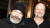 One Man, Two Guvnors opening night  Mandy Patinkin  Paul Ford