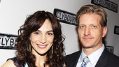 It wouldn&#39;t be an opening night for Annie Parisse without husband Paul Sparks on her arm. 