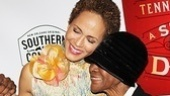 Nicole Ari Parker gets yet another fabulous opening night surprise: a visit from Cicely Tyson.