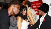 Wood Harris, Daphne Rubin-Vega and Blair Underwood share a special moment with this Oscar-nominated actress. 