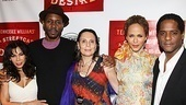 A Streetcar Named Desire opening night  Daphne Rubin-Vega  Wood Harris  Emily Mann  Nicole Ari Parker  Blair Underwood