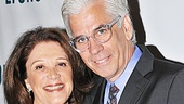 Lyons star Linda Lavin poses with her handsome husband Steve Bakunas.