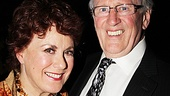 Judy Kaye is honored that her Sweeney Todd co-star Len Cariou came to celebrate with her on opening night.