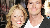 The Columnist Opening Night  Mamie Gummer  Benjamin Walker 