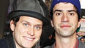 The Columnist Opening Night  Steven Pasquale  Hamish Linklater 
