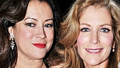 Jennifer Tilly and Patricia Kalember are involved in a complicated love triangle in Don't Dress For Dinner.