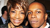 Leap of Faith Opening Night  Adriane Lenox  Leslie Odom Jr.   