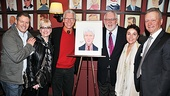 Sardi's Portrait – Kevin Spirtas - Marcia Milgrom Dodge- Tony Sheldon- Jim Brochu- Christine Andreas- Max Klimavicius