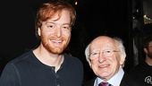 Irish President Visits Once –  David Abeles – Michael D. Higgins