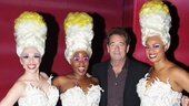 The fabulous Priscilla Divas, Ellyn Marie Marsh, Anastacia McCleskey and Jacqueline B. Arnold welcome pop star and Broadway vet Huey Lewis to the Palace.
