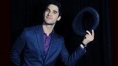 Darren Criss tips his hat to a night of no-holds-barred Broadway fun. 