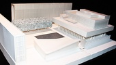 Claire Tow Theater Celebration- Claire Tow Theater Model