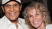 The excitement of an opening never gets old for Tony winner Harry Belafonte and his wife Julie Robinson.